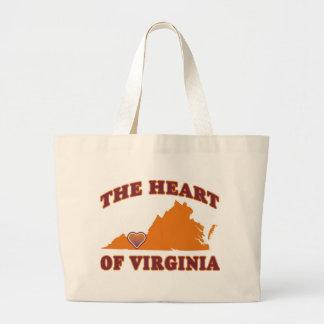 Corazón de la bolsa de asas de Virginia