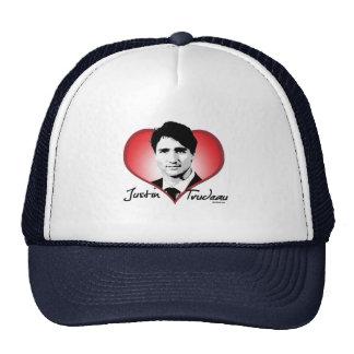 Corazón de la firma de Justin Trudeau - .png Gorro De Camionero