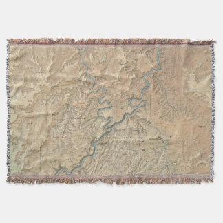 Corazón de la manta del tiro de Canyonlands (Utah)