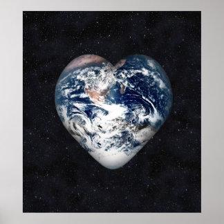 Corazón de la tierra posters