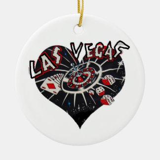 Corazón de Las Vegas Ornamentos Para Reyes Magos