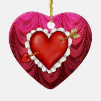 Corazón de lunes Cheri Adorno De Cerámica En Forma De Corazón