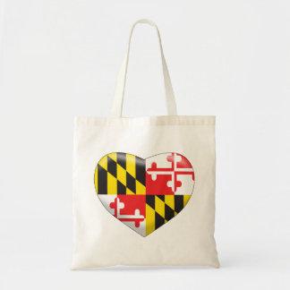 Corazón de Maryland Bolso De Tela