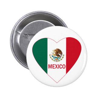 Corazón de México Pins