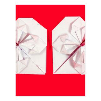 Corazón de Origami Postal