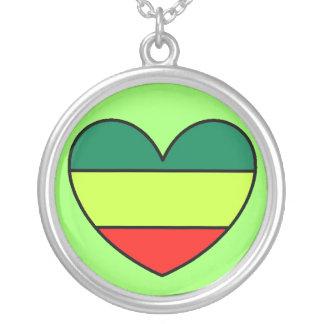 Corazón de Rasta Grimpola Personalizada