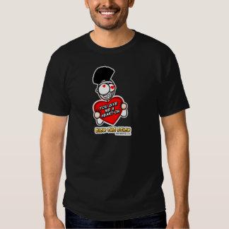Corazón de Rick encendido Camisetas