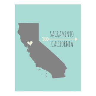 Corazón de Sacramento, California Postal