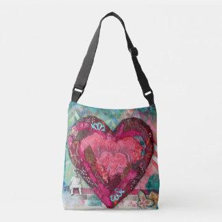 Corazón de una bolsa de asas del niño
