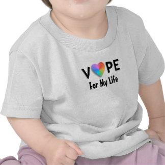 Corazón de Vape para mis camisetas del bebé de la