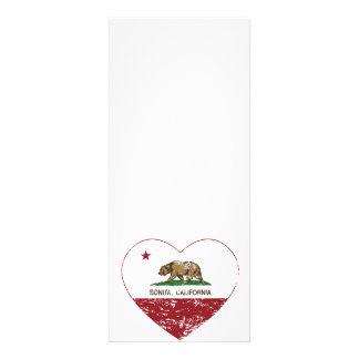 corazón del bonita de la bandera de California ape Comunicados