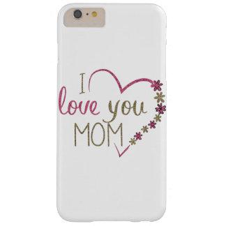 Corazón del día de madres de la mamá del amor funda barely there iPhone 6 plus