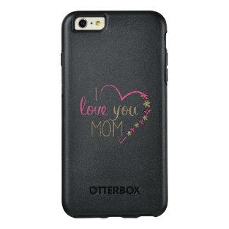 Corazón del día de madres de la mamá del amor funda otterbox para iPhone 6/6s plus