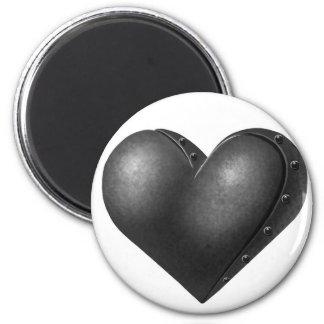 Corazón del hierro imanes