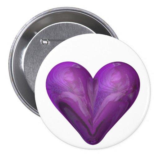 corazón del iris pins