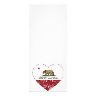 corazón del mariposa de la bandera de California a Comunicados