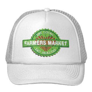 Corazón del mercado de los granjeros gorra