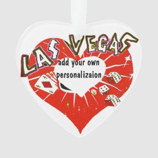 Corazón del rojo de Las Vegas
