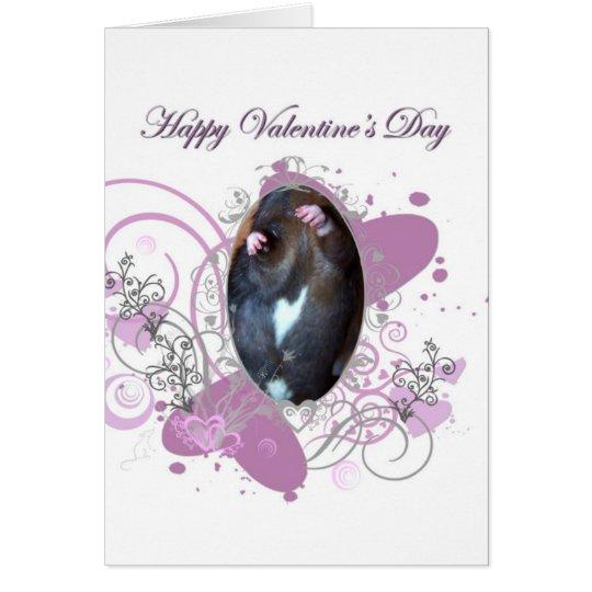 Corazón del ~The de la tarjeta del día de Valetine