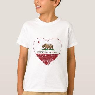 corazón distressed.png de Bakersfield de la Camiseta