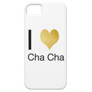 Corazón elegante Cha Cha de I Funda Para iPhone SE/5/5s