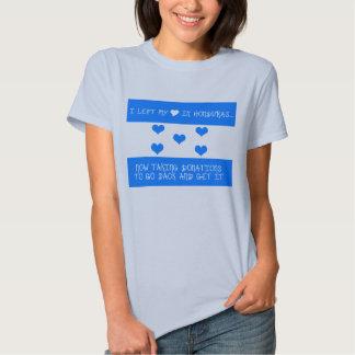 Corazón en Honduras Camiseta
