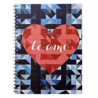 Corazón geométrico. AMOR Cuadernos
