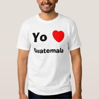 Corazón Guatemala de Yo Camisas