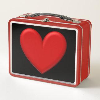 Corazón hinchado rojo