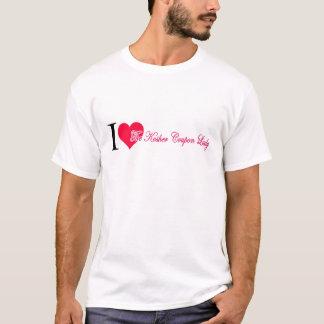 Corazón I la señora kosher de la cupón Camiseta