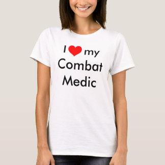 Corazón I mi médico del combate Camiseta