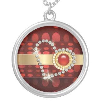 corazón i usted diamantes rojos joyeria personalizada