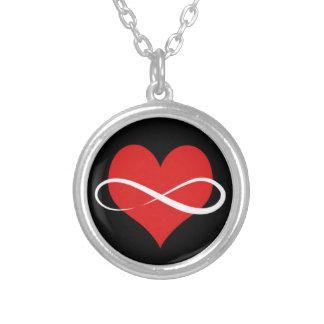 Corazón infinito grimpola personalizada