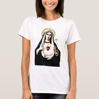 Corazón inmaculado de la camisa de Maria