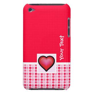 Corazón lindo Case-Mate iPod touch carcasa