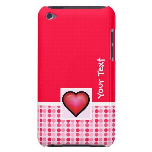 Corazón lindo barely there iPod cárcasas