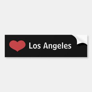 Corazón Los Ángeles Pegatina De Parachoque
