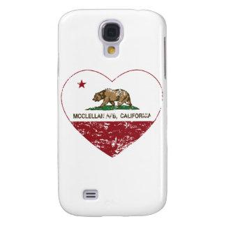 corazón mcclellan de la bandera de California apen Samsung Galaxy S4 Cover