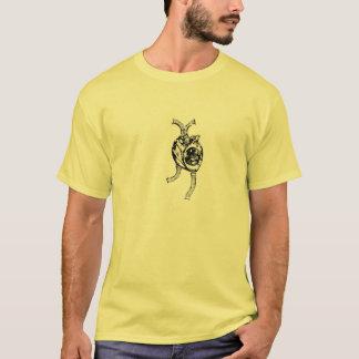 Corazón mecánico camiseta