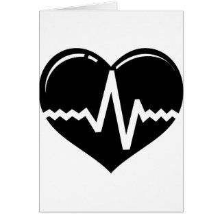 Corazón médico tarjeta de felicitación