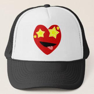 Corazón observado protagonizado gorra de camionero