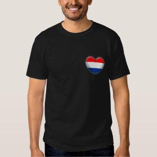 Corazón patriótico Países Bajos Camisetas