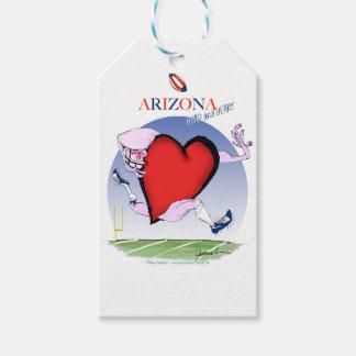 corazón principal de Arizona, fernandes tony Etiquetas Para Regalos