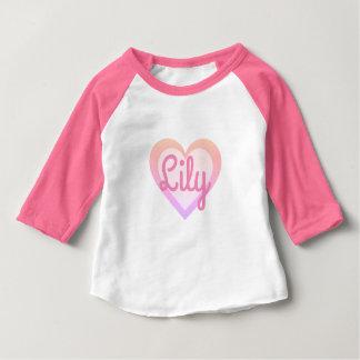Corazón rosado bonito 3/4 adaptable envuelto top