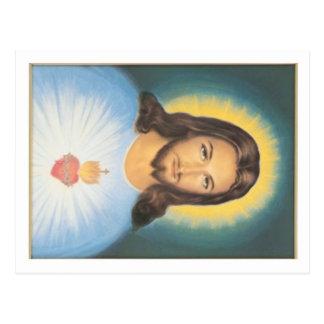 Corazón sagrado de Cristo Postal