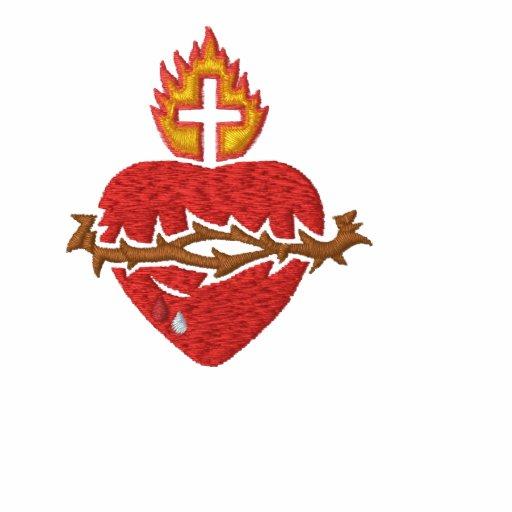 Corazón sagrado - Sagrado Corazon Polo Bordado