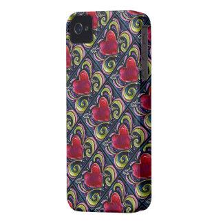 Corazón solo Case-Mate iPhone 4 cárcasas