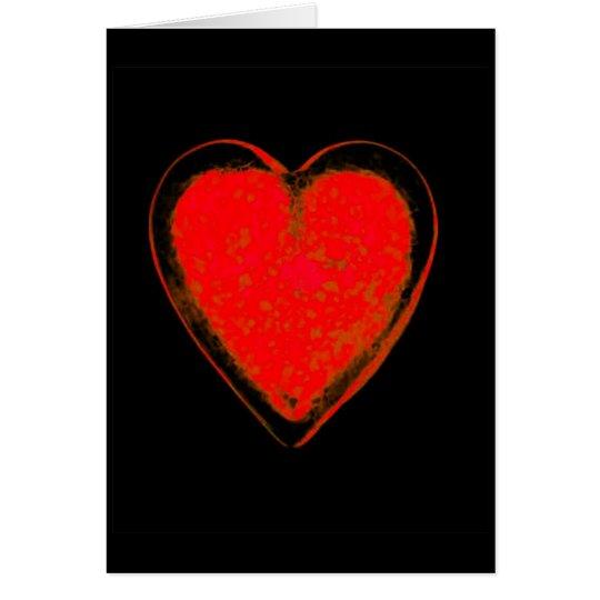 Corazón Tarjeta De Felicitación