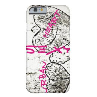 Corazón urbano - iPhone 6/6s, caja del teléfono de Funda Barely There iPhone 6