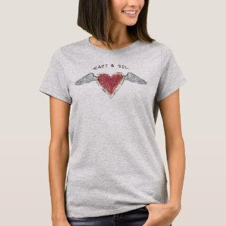 """""""Corazón y"""" camiseta básica Soul-2"""